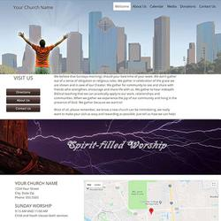 ChurchSquare - Interactive Websites Templates for Christian